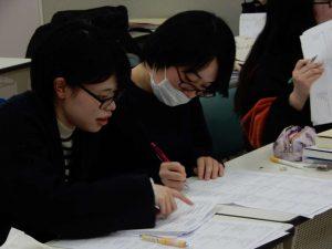 言語聴覚士学科 国家試験対策を頑張っています!